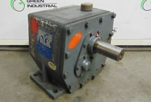 Used Falk Enclosed Gear Drive Model 32 40fc2a Ratio 25 57 Irpm 1750 Orpm 68