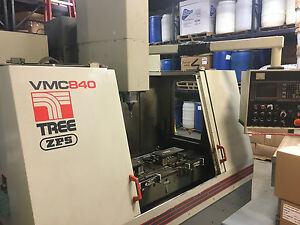 Tree Vmc800 3 axis Cnc Machining Center
