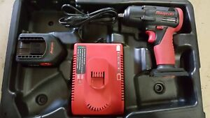 Snap on Ct4410 14 4v Impact battery charger And Hard Case