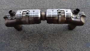 Porsche 997 1 Turbo S Gt 2 2007 08 Exhaust Oem Used Take Of Exhaust System