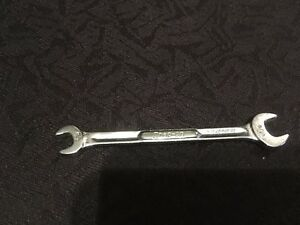 Snap On Vs810 5 16 X 1 4 Double Open End Wrench 4 Long Sae