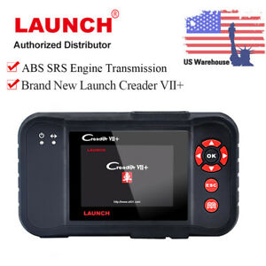 Us Launch Creader Vii Obdii Car Diagnostic Code Scanner Tool 4 System Abs Srs