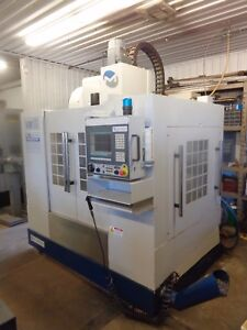 2008 Milltronics Vm 16il 4 Axis Cnc Vmc With Troyke Rotary 10k Spindle