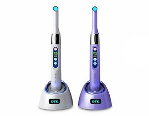 Woodpecker Dte I Led Dental Wireless Led Curing Light 1s Curing 2300 Mw cm2
