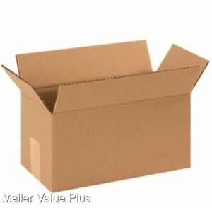25 22 X 10 X 10 Shipping Boxes Packing Moving Storage Cartons Mailing Box