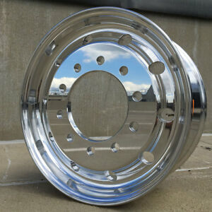 Accuride 41012xp 22 5 X 9 Hub Pilot Flat Face Steer Only Wheel For 315 80r22 5