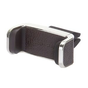Car Universal Smartphone Air Vent Mount Phone Holder Auto Accessories Brown