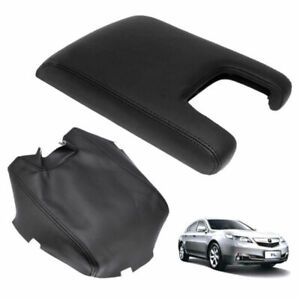 For 2009 2012 Acura Tl Leather Center Console Lid Armrest Cover Stitching