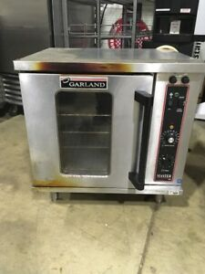 Garland Master 200 Used Half Size Electric Convection Oven