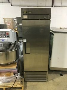 True T 23 Used Commercial Reach In Refrigerator Cooler Stainless Used