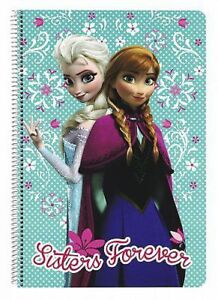The Ice Queen Block Spiral Notebook Notepad Disney Frozen