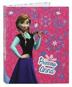 The Ice Queen Folder Ring Binder Stapler College Disney Frozen