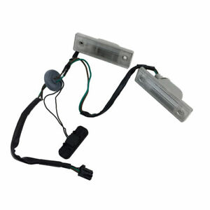 New Rear Trunk Release Switch Licence Plate Lamp For 2011 2014 Chevrolet Cruze