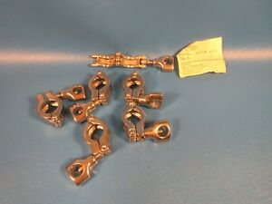 Lot Of 6 Altech Supply 13mhhm 50 75 3 4 Clamps tri clamp Dixon Clover