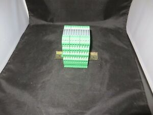 Phoenix Contact Power Terminal Block Mini Mcr sl u u lot Of 10