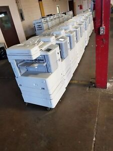 Lot Of 10 Canon Imagerunner Multifunction Copier Scanner 2525 2530 2535 2545