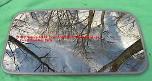 2002 Acura Mdx Oem Year Specific Sunroof Glass No Accident Free Shipping