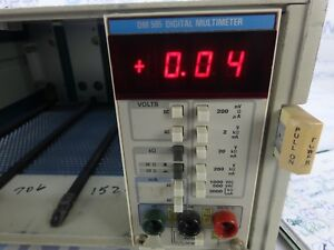 Tektronix Dm 505 Digital Multimeter