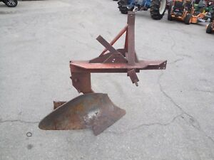 Nice Independent 14 Inch 3 Point Hitch Single Bottom Plow