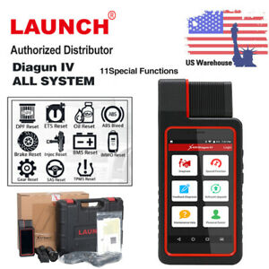 Launch X431 Diagun Iv Auto Car Diagnostic Tablet Full System Scanpad Code Reader