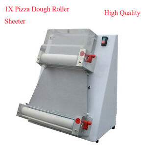 370w Automatic Pizza Dough Roller Sheeter Machine For Pizza Bread Dough Rolling