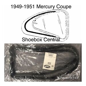 1949 1950 1951 Mercury Passenger Car Coupe Quarter Window Seals New Pair
