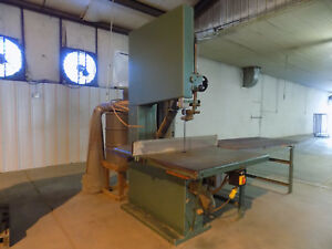 Primo 36 Inch Vertical Bandsaw Wood And Paper Totally Enclosed Dust Collector