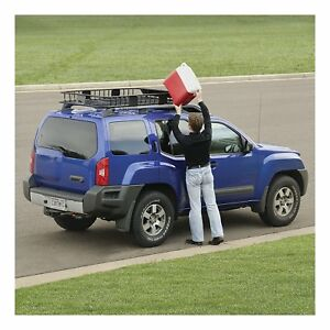 Cargo Carrier Extension Rack Cross Bars Car Suv Roof Top Holder Basket Luggage