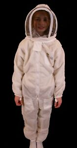 Child s Beekeeping Ventilated Suit With Fencing Veil Xs