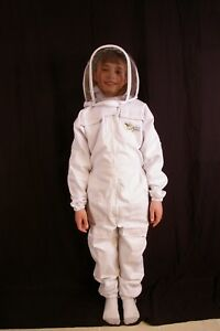 Child s Beekeeping Suit With Fencing Veil Toddler 25 Height