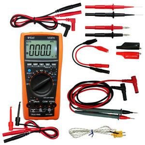 Aidetek Vc97 3 3 4 Digital Multimeter Clamp Meter Needle Tippedtlp20157