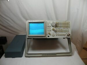 Tektronix 2715 Spectrum Analyzer 9 Khz To 1800 Mhz 75 Ohms Used Works Fine