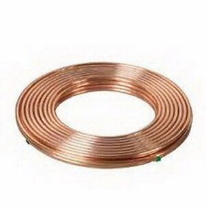 Cerro Flow Products Copper Soft Coil Refrigeration Tube 1 2 Od Length 50 Feet