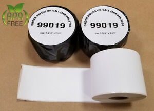 20 Rolls Of 99019 Postage Labels For Paypal And Ebay 450 Duo Dymo Compatible