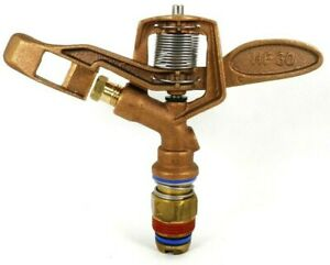 60 Aqua Burst Hf 30 Hd 3 4 Brass Impact Sprinkler Replace Rain Bird 30h 15ea