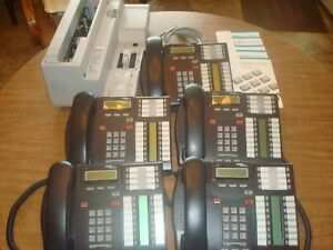 One Nortel Cics With Caller Id Call Pilot Voice Mail And 5 T7316 Phones