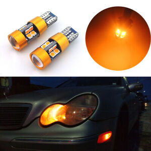 Amber Canbus No Error Eyelid Parking City Lights 2827 W5w 2825 T10 168 Led Bulbs