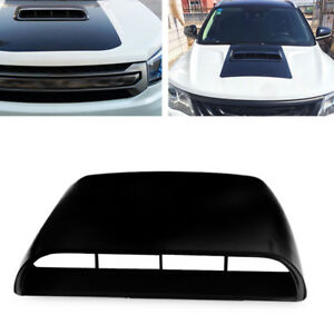 Universal Black Car Decorate Air Flow Intake Hood Scoop Vent Bonnet Cover Small
