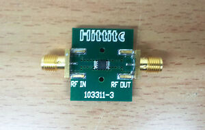 Hittite Analog Devices 103313 hmc189ams8 Passive Frequency Doubler 2 4 Ghz Input