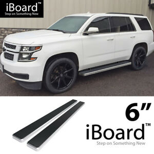 Iboard Running Boards 6 Inches Fit 00 20 Chevy Tahoe Gmc Yukon Cadillac Escalade