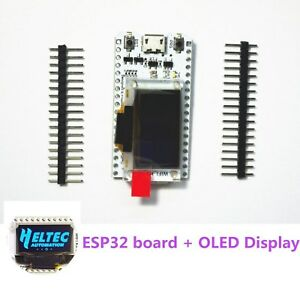 Esp32 Development Board Wifi With 0 96 Inch Oled Display Wifi Kit 32 Arduino New