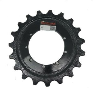 New Construction Mini Excavator Undercarriage Part Sprocket For Fh15