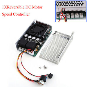 Pwm Control Soft Start Reversible Dc Motor Speed Controller 10 50v 100a W Brake
