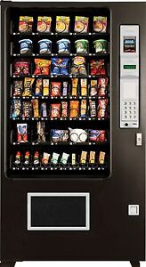 Candy Chip Snack Vending Machine Ams 45 Select Vendor coin Bill Changer