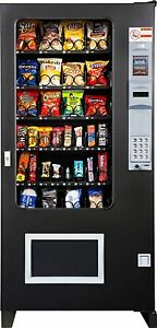 Glass Front Snack Vending Machines 4 Wide Brand New Ams made In America