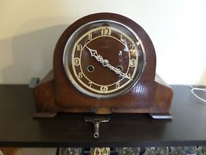 Restored Serviced Very Early Enfield Mantel Clock 99 Photos Of The Work