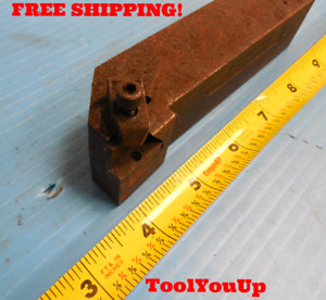 Kennametal Nsr 204d Lathe Tool Holder 1 1 4 Square Holds Top Notch Style Insert