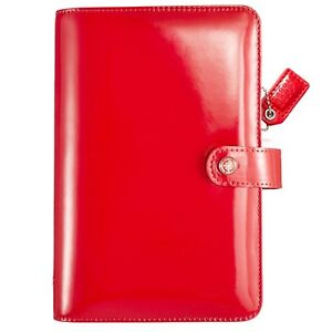 Websters Pages Color Crush Personal Planner Kit W Inserts Red Patent Leather
