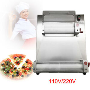 Automatic Pizza Dough Roller Sheeter Pizza Making Machine Restaurant Kitchen Dhl