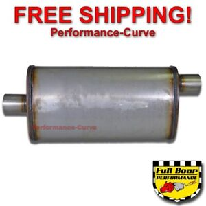 2 25 O c Performance 18 Muffler Max Flow Stainless Steel 4x9 Mf1255